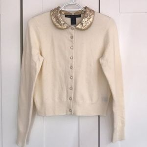 Marc by Marc Jacobs Cream Cardigan *S